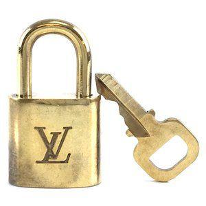 Louis Vuitton Gold Keepall Speedy Lock Key Set#305